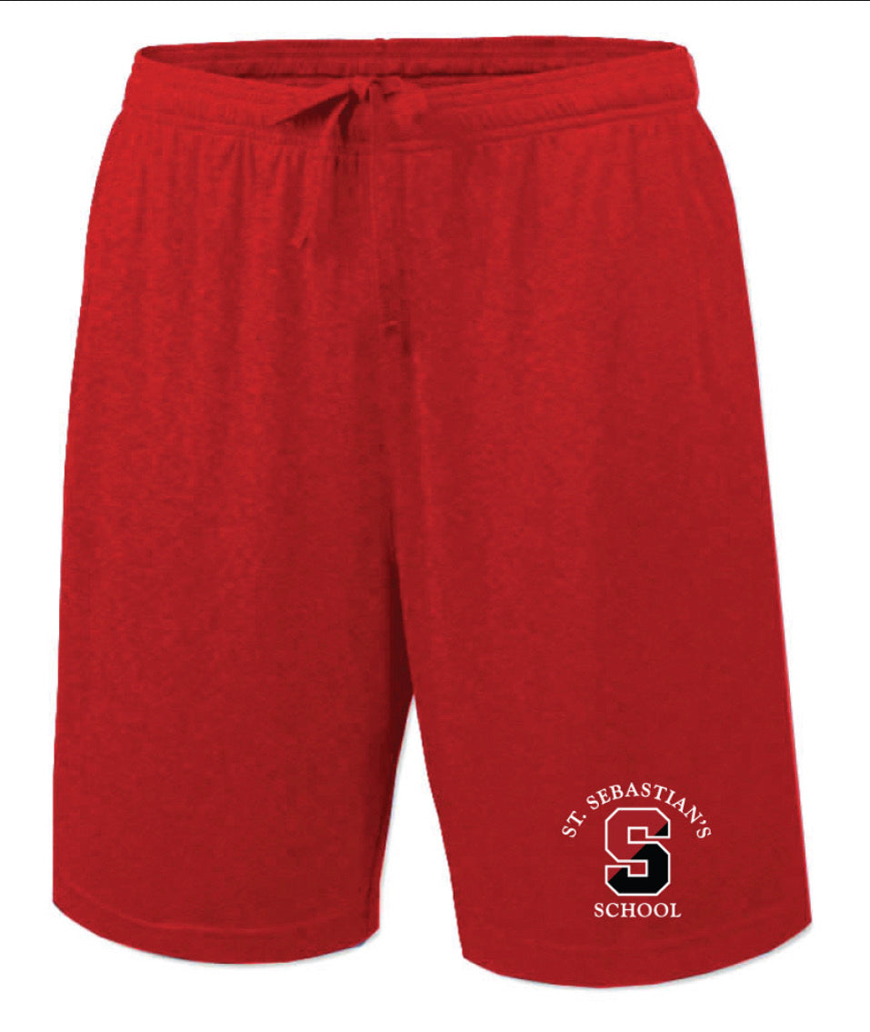 Shorts - Red Two Pocket