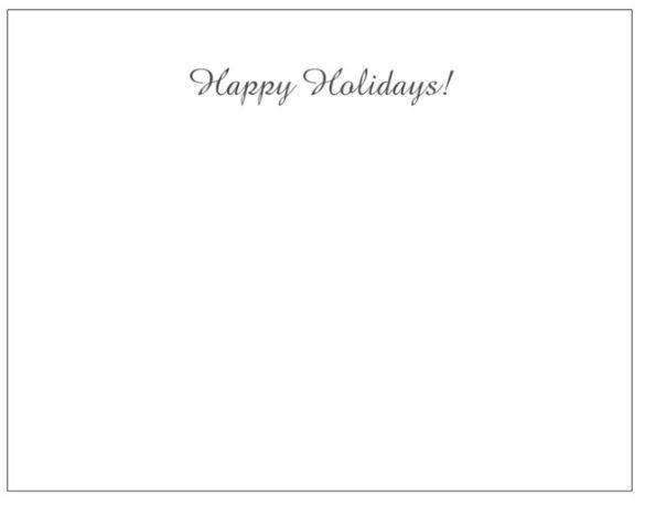 MeditationRings Holiday Greeting Card - MeditationRings