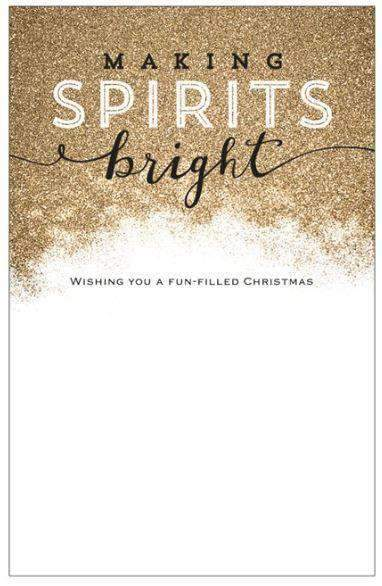 MeditationRings Sparkling Holiday Greeting Card - MeditationRings