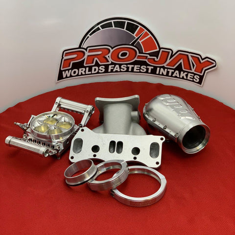 Pro-Jay 4 Barrel Intakes, Throttle Bodies and Plenum Hats