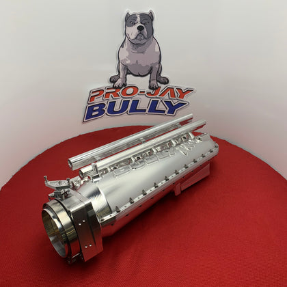 Pro-Jay Toyota 2JZ Intake System Billet and Casted Aluminum