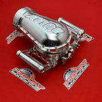 Pro-Jay 12 Injector 4 Barrel Bully Throttle Body & Billet Hat Combo