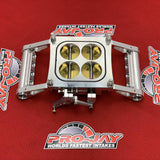 Pro-Jay 8 Injector Low Profile 4 Barrel Throttle Body 1360 CFM