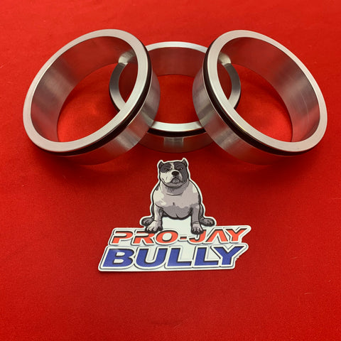 "Pro-Jay Bully Hat 3.500"" Replacement Aluminum Weld in Ring with O-ring"