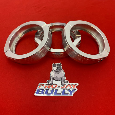 "Pro-Jay Bully Hat Clamp 3.500"" Replacement Aluminum Style Vanjen Clamp"