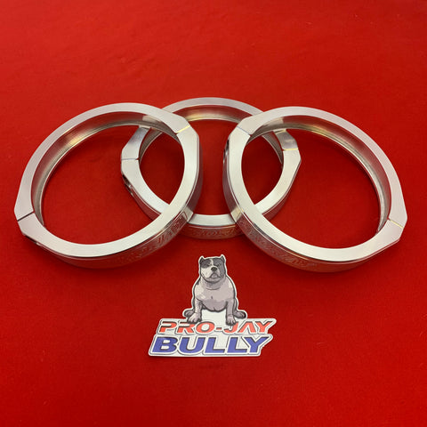 "Pro-Jay Bully Hat Clamp 5.000"" Replacement Aluminum Style Vanjen Clamp"
