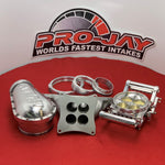 Pro-Jay 4 Barrel Bully Throttle Body and Semi Port Intake System