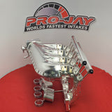 Pro-Jay Mazda 26B Full Peripheral 16 Injected Billet Bully Intake Manifold