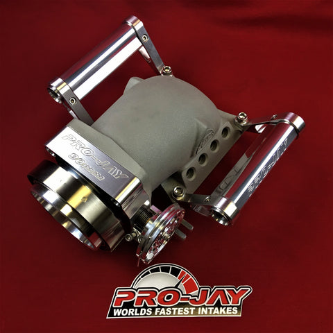 Pro-Jay Mustang Throttle Body Adapter (MTBA) Elbow 8 Injector Ports & TB Combo