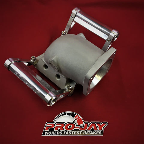 Pro-Jay Mustang Throttle Body Adapter (MTBA) Elbow 4 Injector Ports