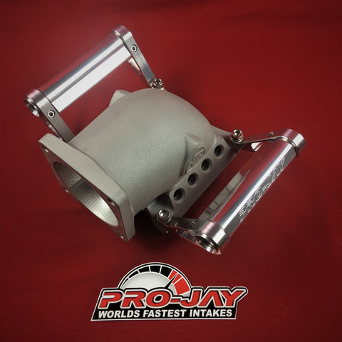 Pro-Jay Mustang Throttle Body Adapter (MTBA) Elbow 8 Injector Ports