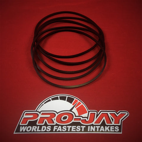 Pro-Jay Mustang Throttle Body Adapter (MTBA) Elbow 5pc O-ring Kit