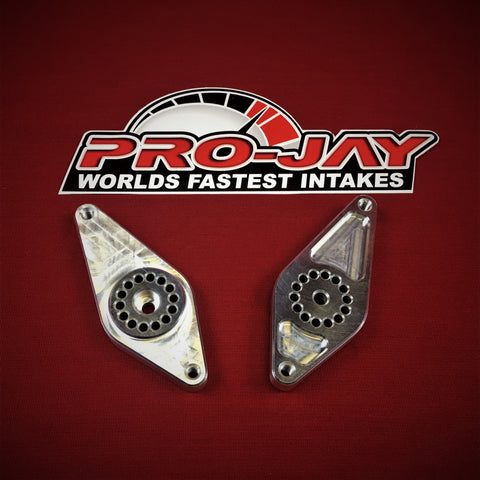 Pro-Jay Mustang Style Low Profile Throttle Bodies / Arm Cable Link