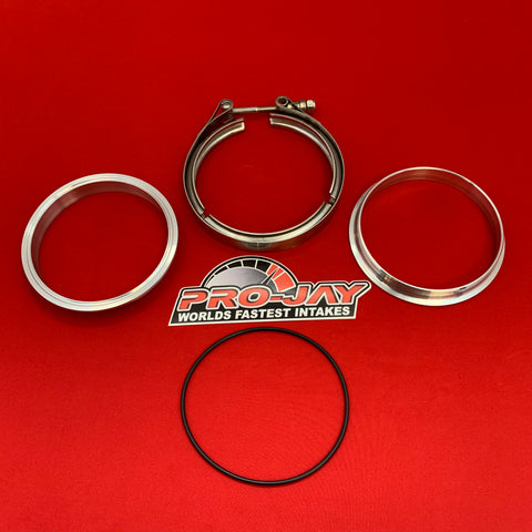 V-Band Clamp and Aluminum Weld in Ring Kit