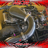 Pro-Jay 8 Injector Port Low Profile 4 Barrel Throttle Body and Plenum Hat