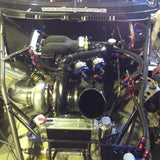 Mazda 13B Twin Turbo Typhoon intake system with 12 injector port and a 90mm throttle body