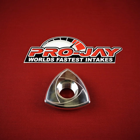 Mazda RX7 Billet Aluminum Rotor Oil Cap with 3/4-14 NPT PORT