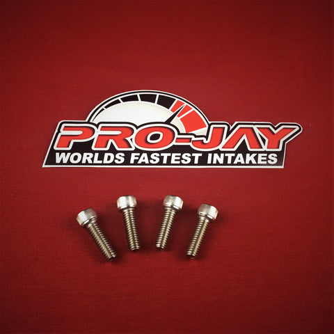Pro-Jay Mustang Style Low Profile Throttle Bodies Bolts