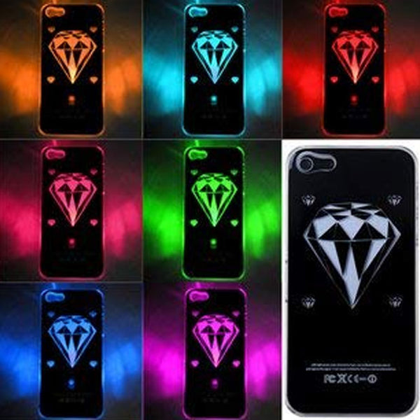 CASE LIGHT UP DIAMOND - dfw cellphone and parts