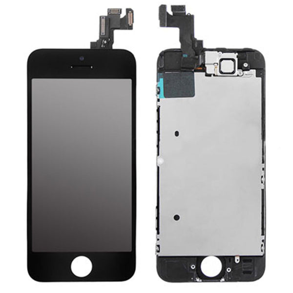 LCD FOR IP SE BLACK - dfw cellphone and parts