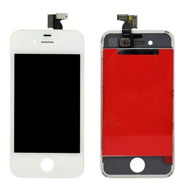 LCD FOR IP4G WHITE - dfw cellphone and parts