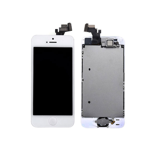 LCD FOR IP5G WHITE - dfw cellphone and parts
