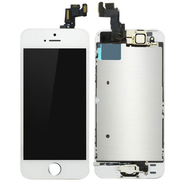 LCD FOR IP5S / SE WHITE - dfw cellphone and parts