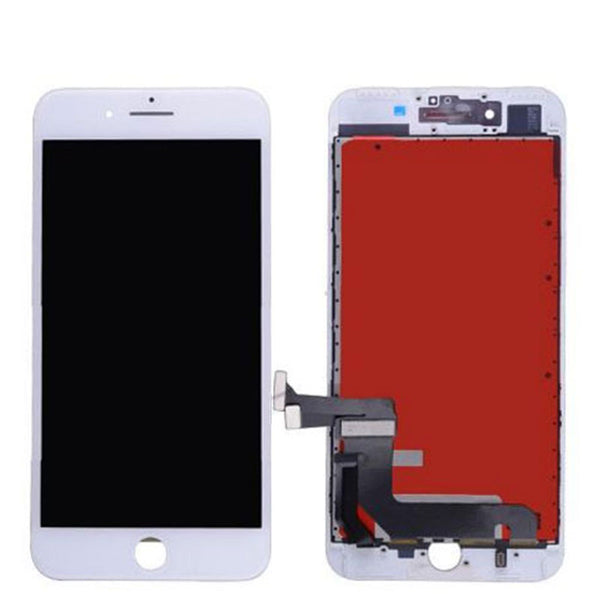 LCD FOR IP8 PLUS WHITE - dfw cellphone and parts