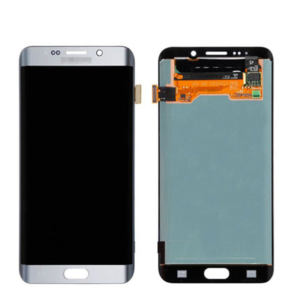 LCD S7 EDGE AB STOCK WITH FRAME - dfw cellphone and parts