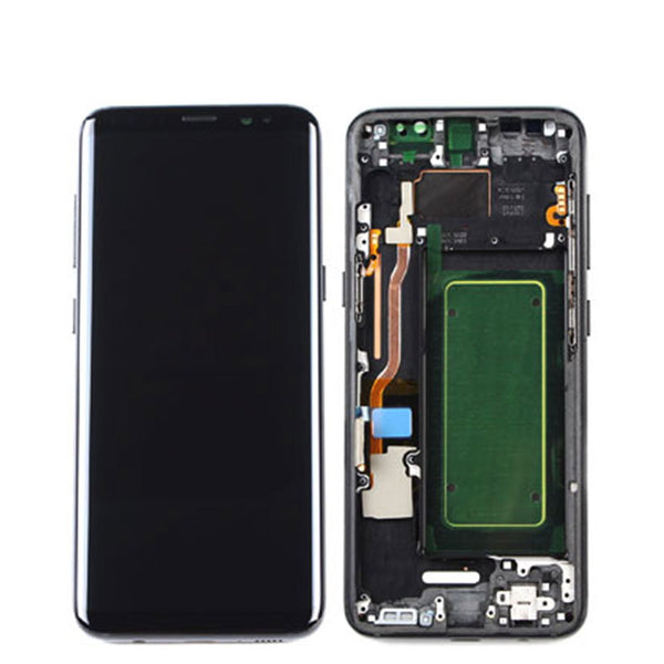 LCD S8 WITH FRAME G950 - dfw cellphone and parts