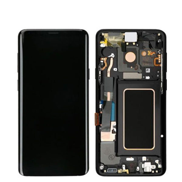LCD S9 PLUS AB STOCK WITH FRAME - dfw cellphone and parts