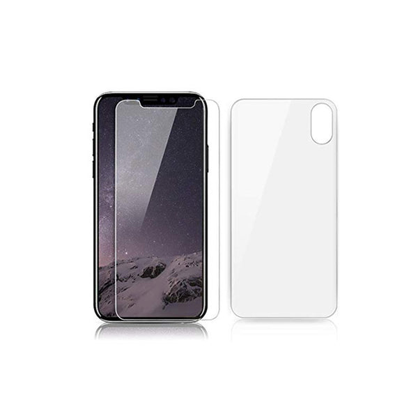 TEMPERED GLASS FRONT AND BACK IP X - dfw cellphone and parts