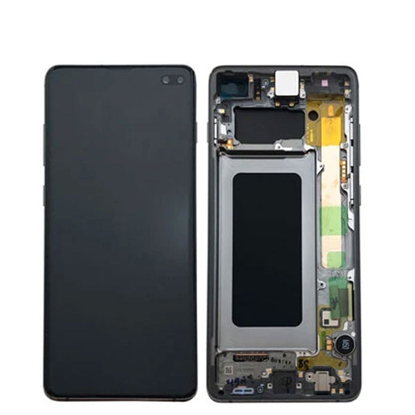 LCD S10 PLUS WITH FRAME - dfw cellphone and parts