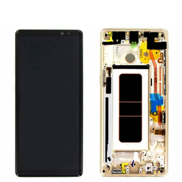 LCD NOTE 8 N950 WITH FRAME - dfw cellphone and parts