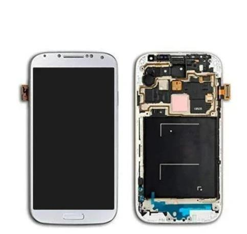 LCD S4  WTH FRAME WHITE - dfw cellphone and parts