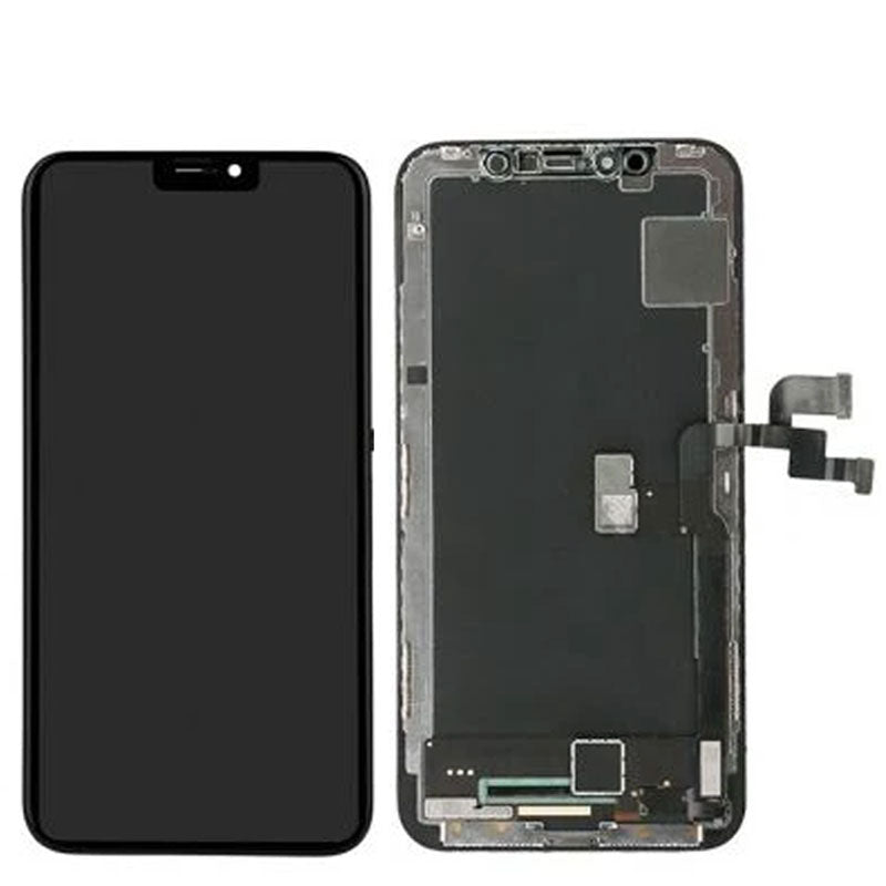Silver Parts for iPhone X IPX housing Cover Rear Battery Door