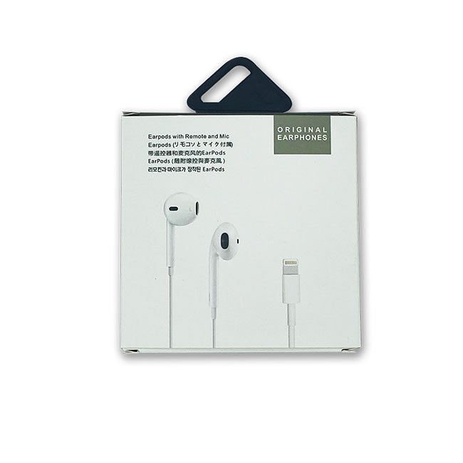 BT EARPHONE FOR IPHONE WITH LIGHTNING CONNECTOR WITH BOX