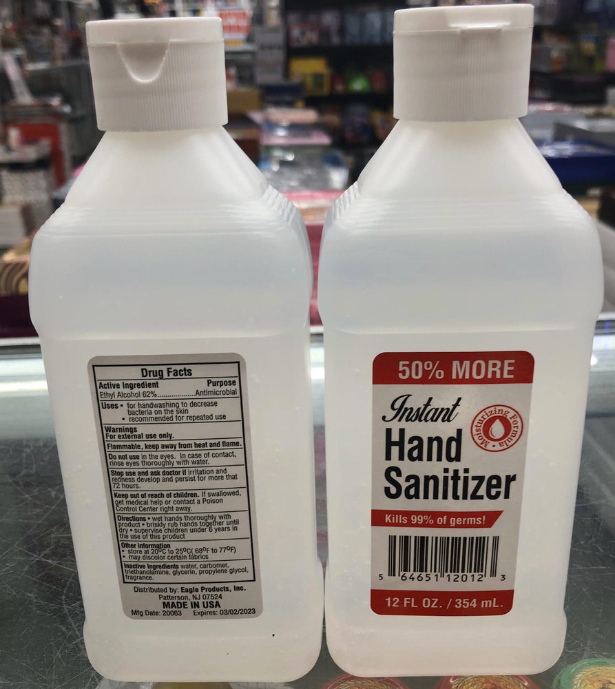 INSTANT HAND SANITIZER 12OZ MADE IN USA