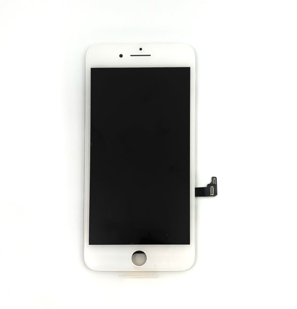 PREMIUM LCD FOR IPHONE 8 PLUS WHITE WITH BACK PLATE MP+