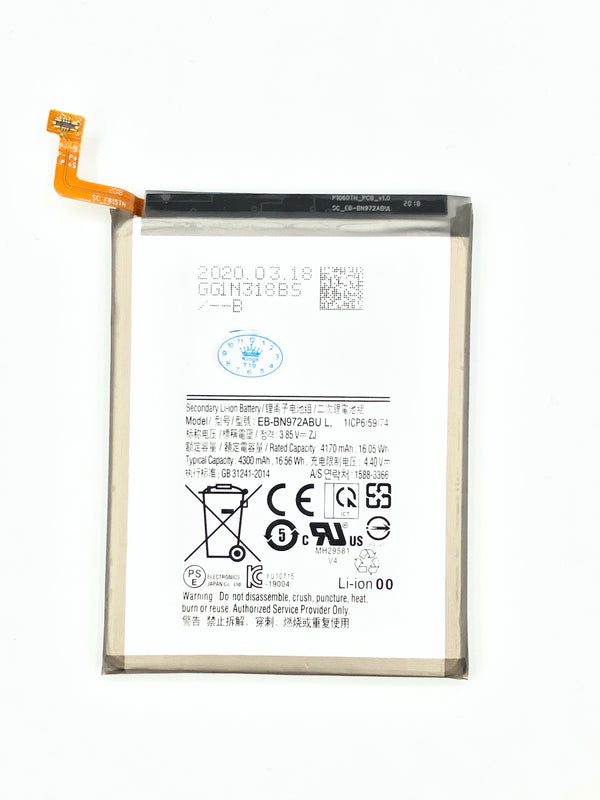 BATTERY FOR SAM NOTE 10PLUS