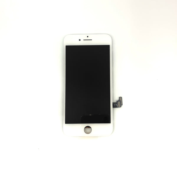 PREMIUM LCD FOR IPHONE 7 WHITE WITH BACK PLATE MP+