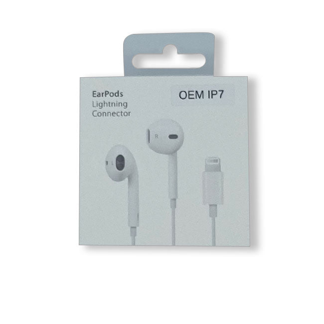 EARPHONE FOR IPHONE WITH LIGHTNING CONNECTOR OEM QUALITY