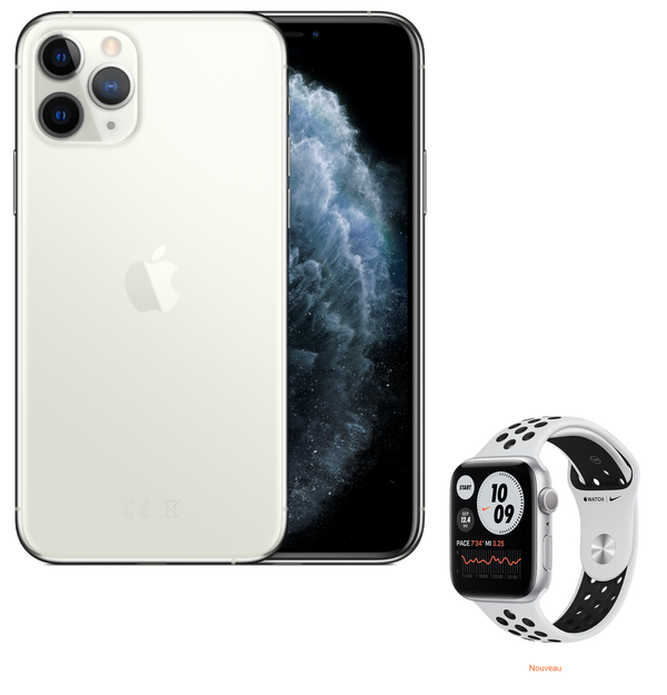 Pack Sport | iPhone 11 Pro & Apple Watch Nike s6 | 64 Go