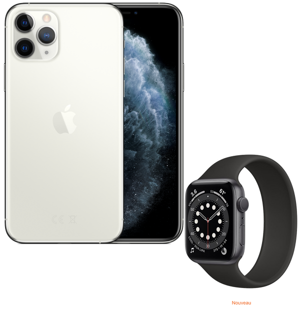 Pack Watch | iPhone 11 Pro & Apple Watch série 6 | 64 Go