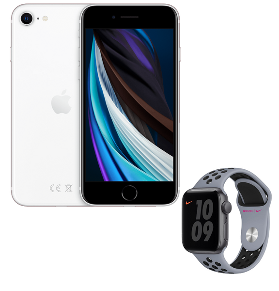 Pack Sport | iPhone SE & Apple Watch Nike SE | 64 Go