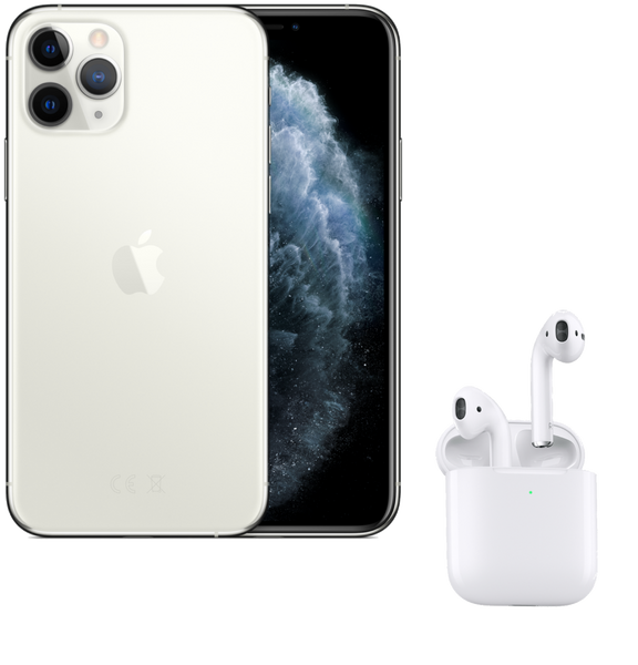 Pack Zik | iPhone 11 Pro - AirPods 2 ou Bose s700 | 64 Go
