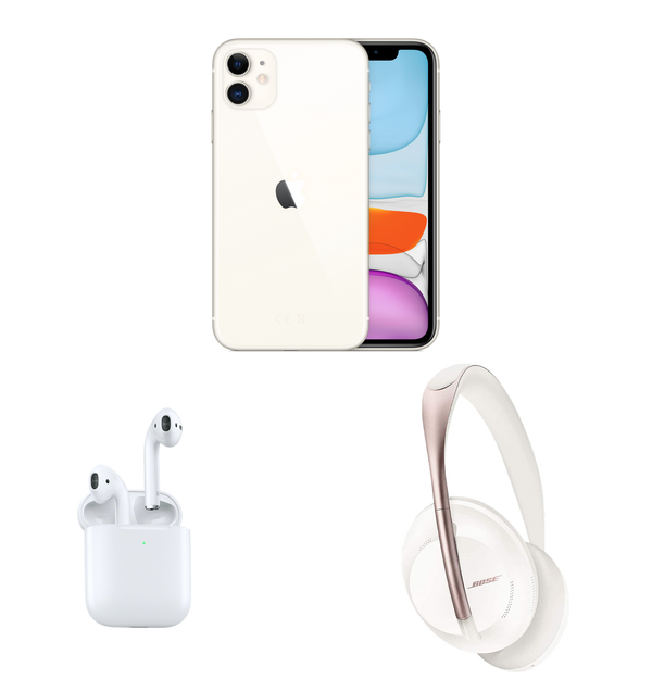 Pack Zik | iPhone 11 - AirPods 2 ou Bose s700 | 64 Go