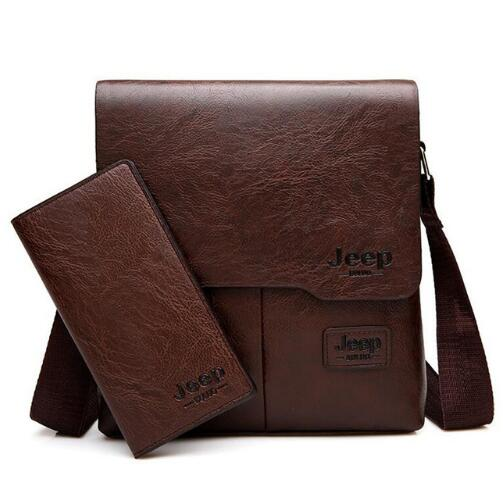 Man Pu Leather Messenger Shoulder Bags