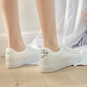 Vulcanized Low Top Shoes For Women