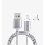 2.4A High Speed Charging Magnetic Cable for iPhone & Android Devices (Shipped From USA)